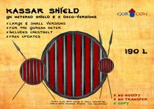 Kassar Shield - wagonpeople nomads gor