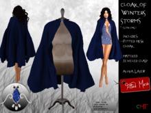 -o-o- Chained Heat -o-o- Cloak of Winter Storms - Azure
