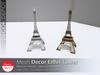 [DD] - FULL PERM Decor Eiffel Tower