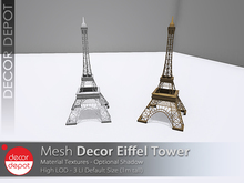 [DD] - FULL PERM Decor Eiffel Tower