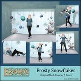 Exposeur - Frosty Snowflakes