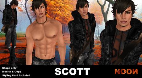 .::NOON::. Scott Male shape - NOON Men shapes line