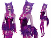 Boudoir-Cheshire Cat Costume
