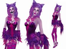 Boudoir-Cheshire Cat Costume