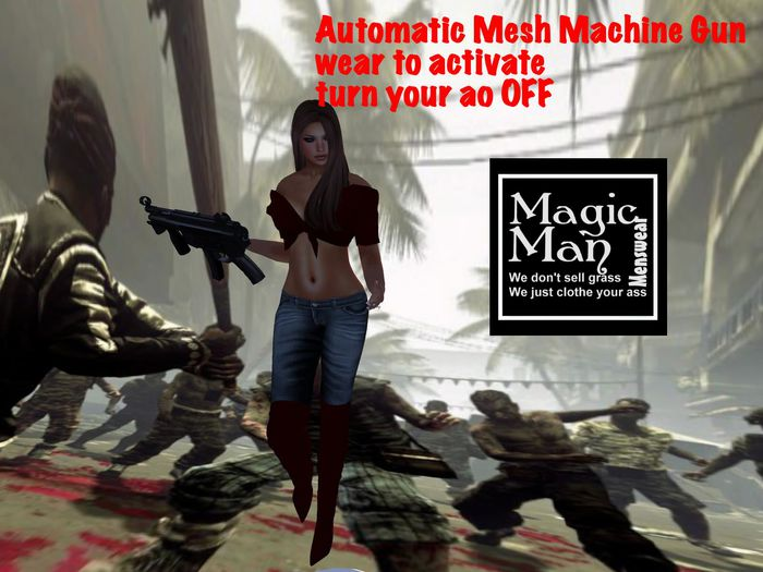 AutoMatic Mesh Machine Gun (box)