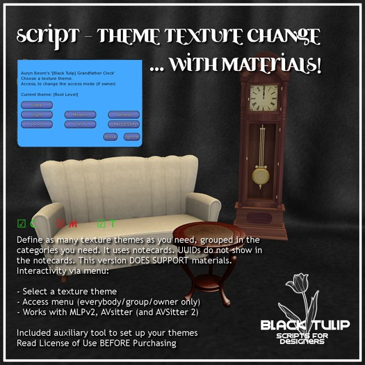 [Black Tulip] Script - Theme Texture Change - Materials