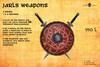 GORCON Jarls weapons Sword & Sword - Viking Torvaldsland