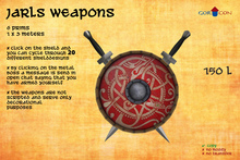 GOR CON Jarls weapons Sword & Sword - Viking Torvaldsland