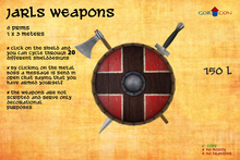 GOR CON Jarls weapons Axe & Sword - Viking Torvaldsland