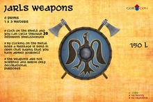 GOR CON Jarls weapons Axe & Axe - Vikings Torvaldsland