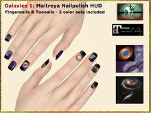 Bliensen + MaiTai - Galaxies Maitreya Nailpolish Applier HUD - Fingernails and Toenails