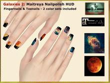 Bliensen + MaiTai - Galaxies 2 Maitreya Nailpolish Applier HUD - Fingernails and Toenail