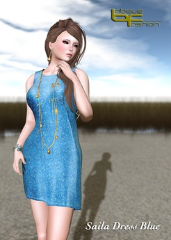 Babele Fashion :: Saila Dress Blue