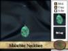 >^OeC^< Malachite Necklace
