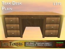 Teak Desk Plain