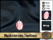 >^OeC^< Rhodochrosite Necklace