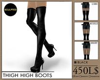 J's Thigh High BOOTS* Black