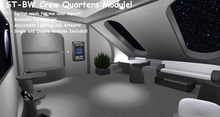 ST-BW Hallways, Crew Quarters Module