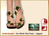 DEMO Bliensen + MaiTai - Underbrush - Sandals for Slink Flat