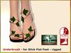 Bliensen + MaiTai - Underbrush - Sandals for Slink Flat