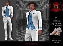 69 Park Ave - GQ White Sapphire - Formal Tuxedo [MESH]