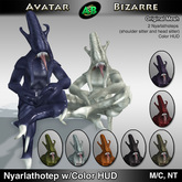 AB Nyarlathotep Shoulder Sitters (Wearable pets with color HUD)