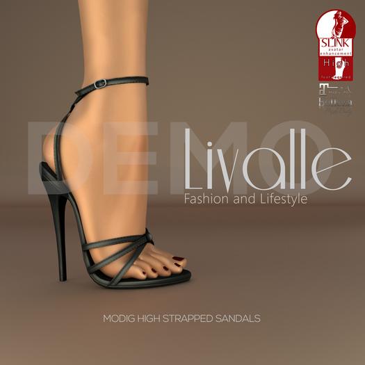 {Livalle} Modig -High Strapped Sandals- DEMO