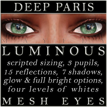 Mayfly - Luminous - Mesh Eyes (Deep Paris)