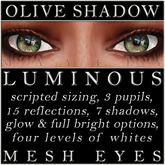 Mayfly - Luminous - Mesh Eyes (Olive Shadow)