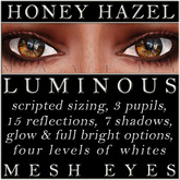 Mayfly - Luminous - Mesh Eyes (Honey Hazel)