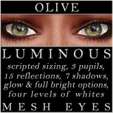 Mayfly - Luminous - Mesh Eyes (Olive)