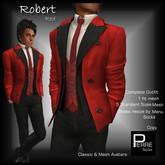 PierreStyles suit ROBERT RED
