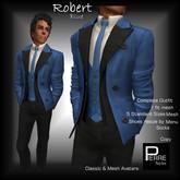 PierreStyles suit ROBERT BLUE