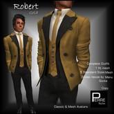 PierreStyles suit ROBERT GOLD