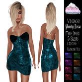 *Halo Inc* Shawty vintage dress with HUD