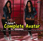 :..EE.:: Complete Avatar *Jane* (Incl. Outfit&Sneakers)