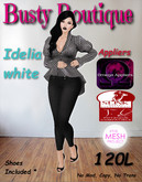 Busty Boutique Idelia white