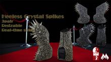 Heelless Crystal Spikes [Slink-High]
