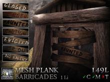 Stormwood: Mesh Wooden Plank Barricades
