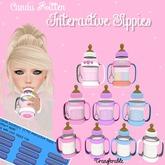 Candii Kitten- Interactive Sippy *Rainbow Paris Glitter*