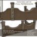 DayWalker Designs - Concrete wall kit-M/C/T