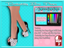 ..::KnocKeRs::.. Rockalily Bow Peeps(Polka Dots )
