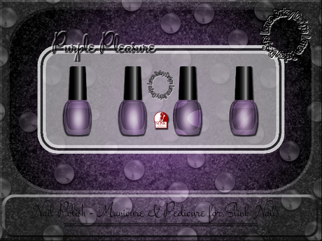 ▪ Purple Pleasure Manicure & Pedicure for Slink ▪