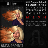 Alice Project - Willow - Natural Red