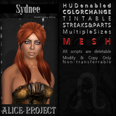 Alice Project - Sydnee - Create Your Own