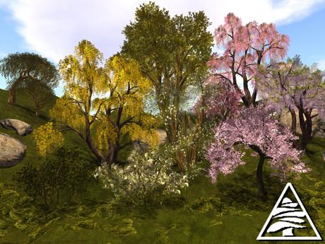 Mixed trees 2 MODIFY TRANSFER (11 PCS)