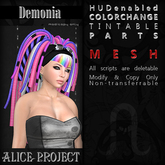 Alice Project - Demonia - Natural Red