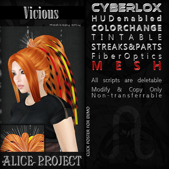 Alice Project - Vicious - Brown