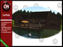 CM Creations, Lotus House Delivery Box