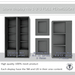 DayWalker Designs - Store display unite  NO 1-2-3-M/C/T